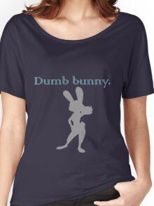 Zootopia / Zootropolis - Judy Hopps Dumb Bunny Women's Relaxed Fit T-Shirt