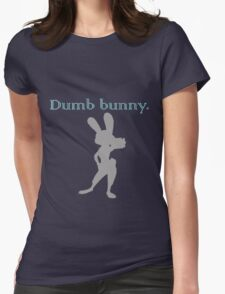 Zootopia / Zootropolis - Judy Hopps Dumb Bunny Womens Fitted T-Shirt