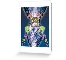 Double Bass Greeting Card
