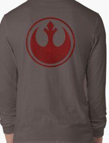rebel alliance starbird logo Long Sleeve T-Shirt