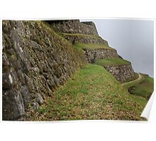Inca Trail to Machu Picchu (also known as Camino Inca). Poster