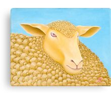 WOOLLY MUNDANE - 'The exciting one' - Oil On Canvas Canvas Print