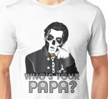 WHO'S YOUR PAPA? - papa 3 - design 4 Unisex T-Shirt