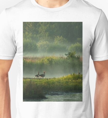 In Misty Morningland Unisex T-Shirt