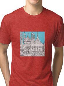 Blue Domes Tri-blend T-Shirt
