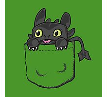 Toothless pocket Photographic Print