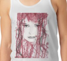 Your blood on my face Tank Top