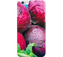 Fresh Red Cabbage iPhone Case/Skin