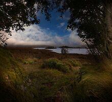Rannock Moor and Loch Ba by eddiej