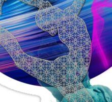 Knit  foam Ballerina Sticker