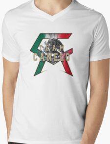 Canelo Saul Alvarez boxer Logo (T-shirt, Phone Case & more) Mens V-Neck T-Shirt