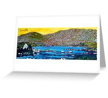 Loch Con Aortha, Conamara Greeting Card