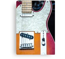 Fender Telecaster  Canvas Print