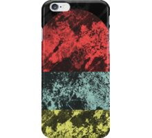 Sunset Beach - Abstract, Marble Effect Painting iPhone Case/Skin