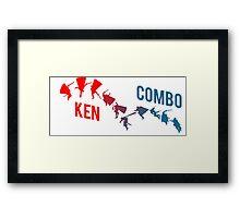 Ken Combo Shirt Framed Print