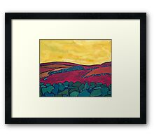 Stone Walls, No Sheep 1 Framed Print