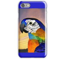 HYPER PARROTS / RED AND BLUE ARA iPhone Case/Skin