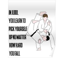 Judo Quote Poster