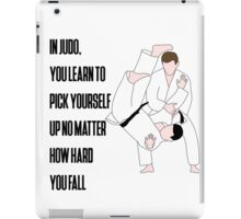 Judo Quote iPad Case/Skin