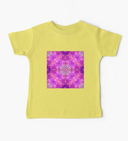 Pink Abstract 2 Baby Tee