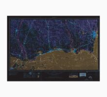 USGS TOPO Map Alabama AL Mobile 305920 1957 250000 Inverted Baby Tee