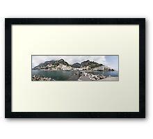 Costiera Amalfitana Framed Print