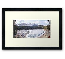 Lago di Carezza Framed Print
