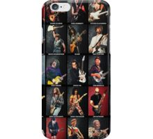 Greatest Guitarists Of All Time iPhone Case/Skin