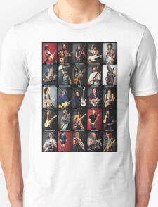 Greatest Guitarists Of All Time Unisex T-Shirt