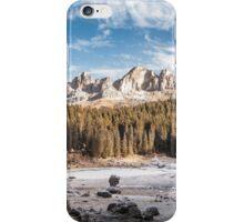 Lago di Carezza iPhone Case/Skin