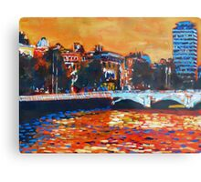 O'Connell Bridge & Liberty Hall, Dublin Metal Print