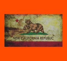 NEW CALIFORNIA REPUBLIC. Grunge Kids Tee
