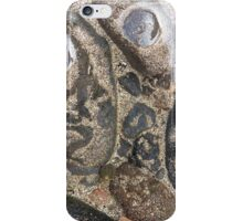 Natural drawings in the sand iPhone Case/Skin