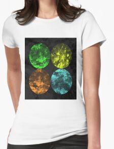 Seasons - Spring, Summer, Autumn, Winter Womens Fitted T-Shirt