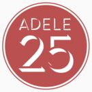Adele - 25 Red by fleros