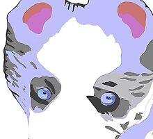 Collie Puppy blue merle by Karen Harding