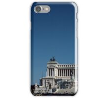 Victor Emmanuel Memorial, Rome Italy 19840719 0038  iPhone Case/Skin