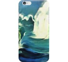 Going With The Flow Ocean Waves iPhone Case/Skin