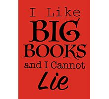 Big Books  Photographic Print