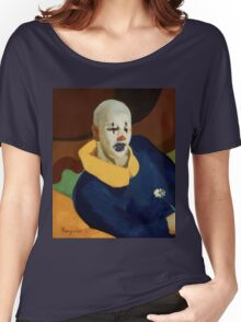 vintage famous art - John Everett Millais - George Luks A Clown Women's Relaxed Fit T-Shirt