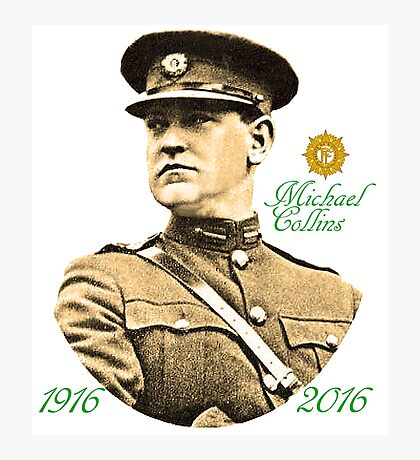 Michael Collins 1916-2016 Photographic Print