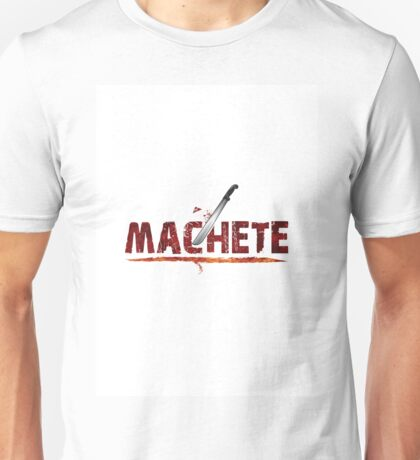 machete, kills, knife, fire, scimitar Unisex T-Shirt