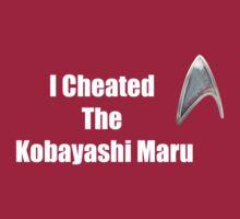 I Cheated (white) by kjen20