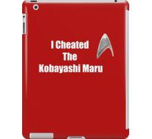 I Cheated (white) iPad Case/Skin
