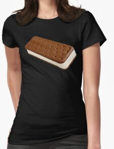 Ice Cream Sandwich Womens Fitted T-Shirt