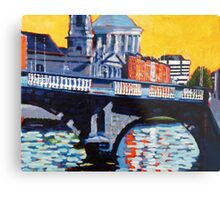 Mellows Bridge, Dublin Metal Print