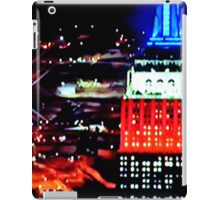 Empire State Building Abstract iPad Case/Skin