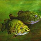 Smallmouth Bass by Kathleen Kelly-Thompson