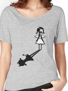 I'm an angel really i am! Women's Relaxed Fit T-Shirt