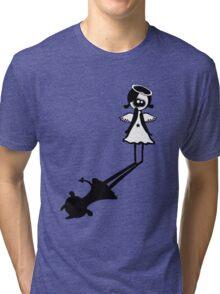 I'm an angel really i am! Tri-blend T-Shirt